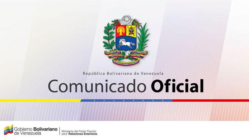Venezuela rechaza comunicado de Unión Europea que cuestiona elecciones del 20-M