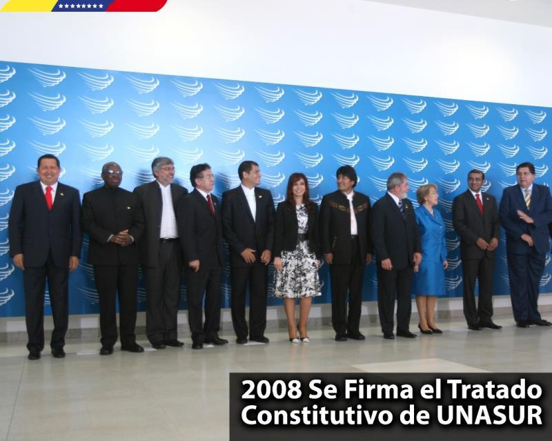 Hace 10 años se firmó el tratado de constitución de la Unión de Naciones Suramericanas