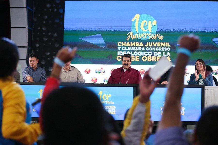 Presidente Maduro decretó la conversión del Plan Chamba Juvenil en una misión