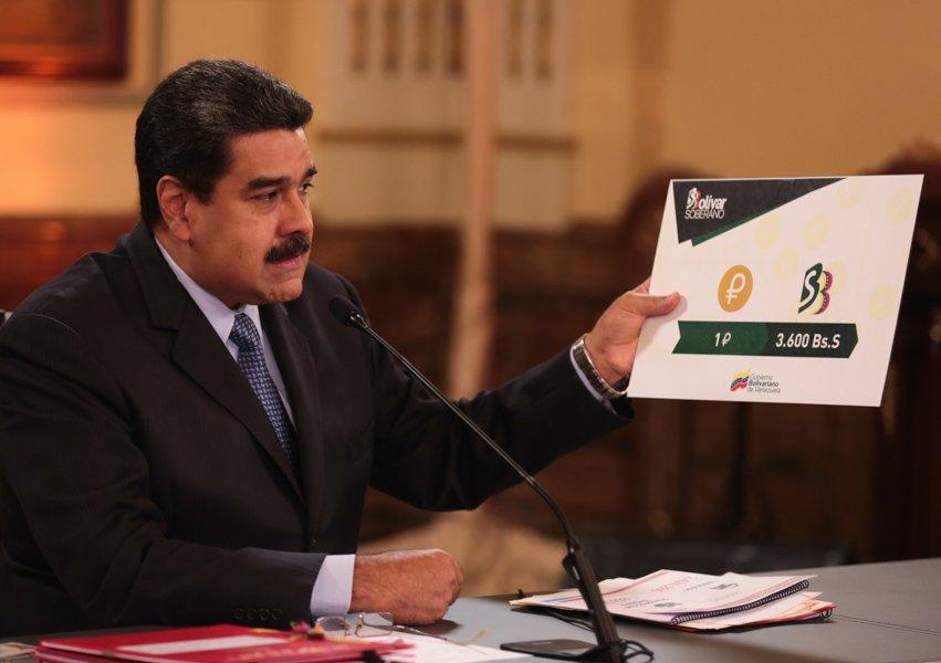 El Petro tendrá como valor 3 mil 600 Bolívares Soberanos