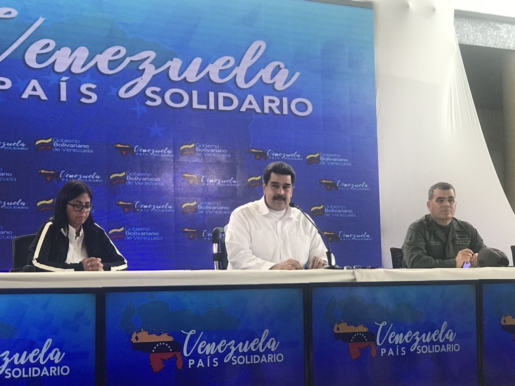 Presidente Maduro rechazó nuevas sanciones del Departamento del Tesoro de EEUU