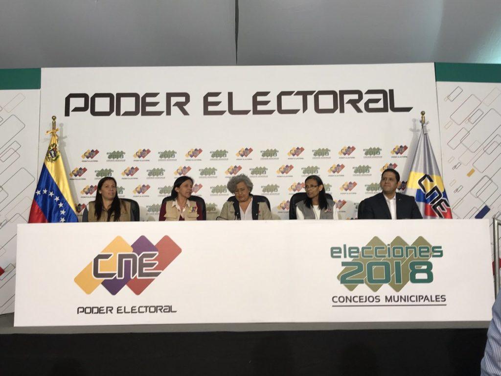 Fuerzas del chavismo triunfan en mayoría de las cámaras municipales