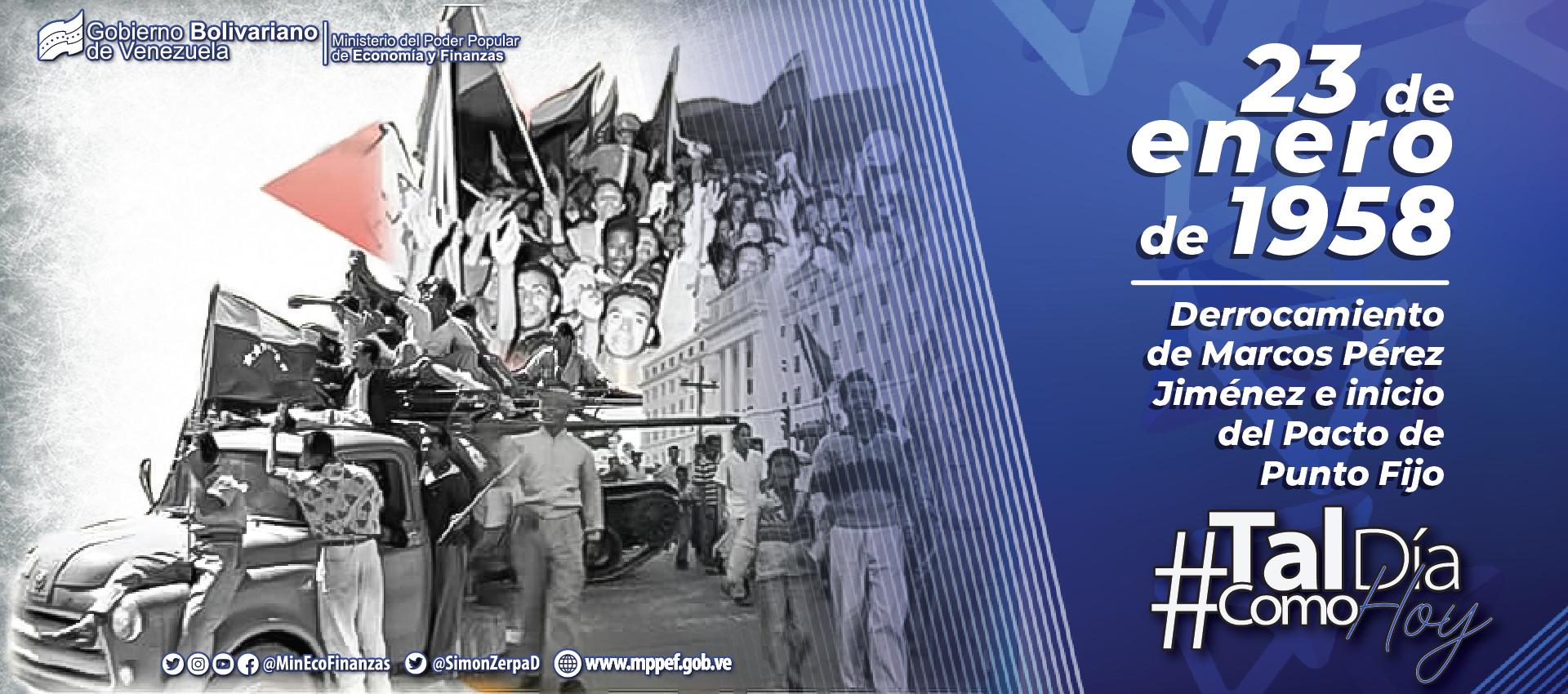 23 de enero: El fin y el comienzo de una etapa transcendental en la historia republicana de Venezuela