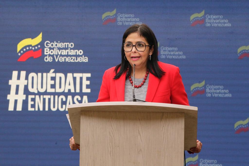 """Vicepresidenta Ejecutiva: """"Es muy importante que mantengamos a Venezuela protegida"""""""
