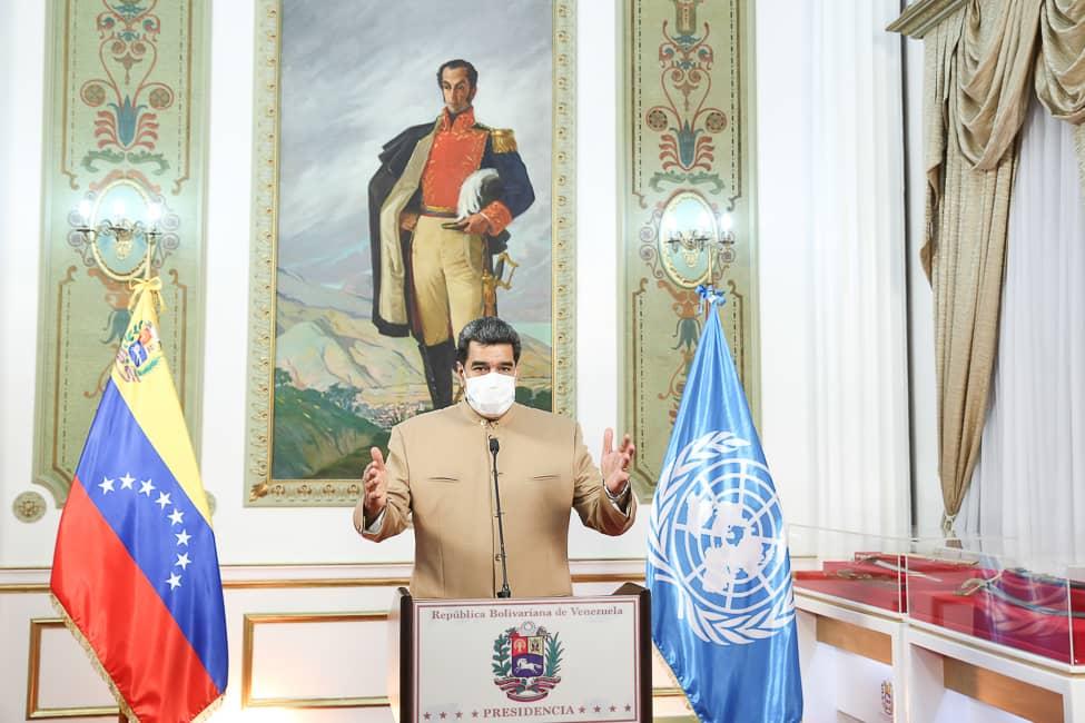 Maduro: No es tiempo de insultar ni agraviar a la OMS