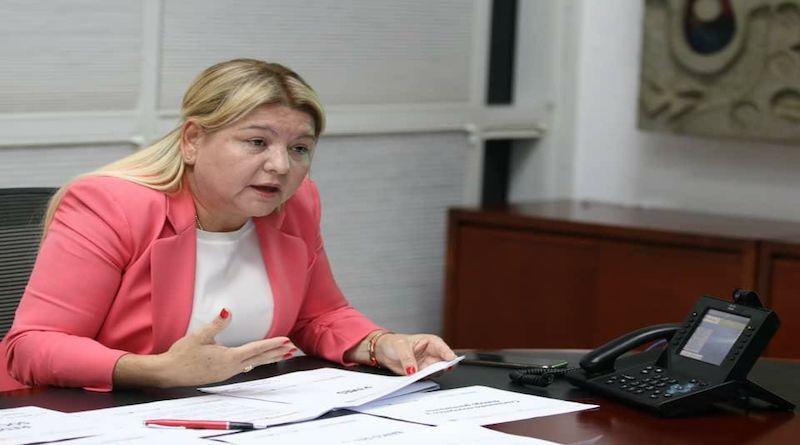 Ministra Laya entregará propuesta de Ley ante la AN para garantizar el equilibrio económico del país