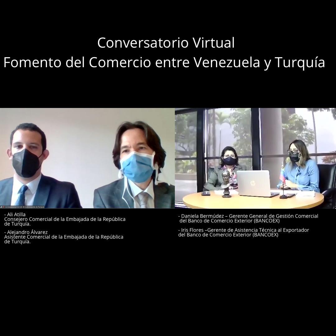 """Conferencia """"Abriendo Mercados"""" fomenta el comercio exterior entre Venezuela y Turquía"""