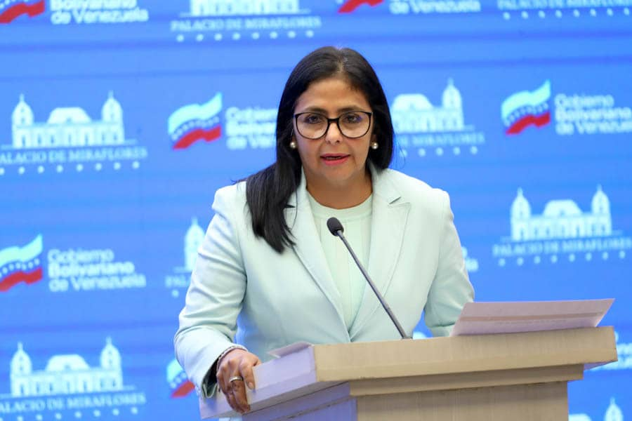 Vicepresidenta Rodríguez: Ataque al Banco de Venezuela se orquestó desde los Estados Unidos