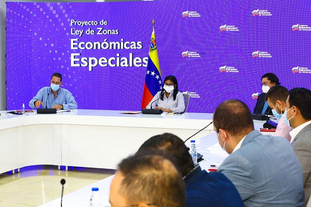 Vicepresidenta Delcy Rodríguez encabeza Mesa de Trabajo con Comisión de Economía y Finanzas de la AN